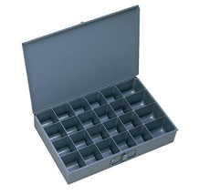 "Durham 102-95-IND Gray Cold Rolled Steel Individual Large Scoop Box, 18""... - $32.31"