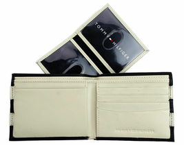 Tommy Hilfiger Men's Leather Credit Card ID Wallet Passcase Billfold 31TL22X040 image 7