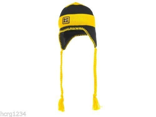 Missouri Mizzou Tigers Columbia Sportswear NCAA Knit Braided Tassel Hat/Beanie