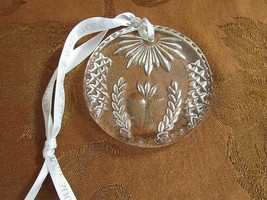 Waterford Crystal 2001 Times Square Ornament Ireland Seahorse Mark Abundance - $19.75