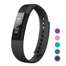Touch Screen Fitness Tracker Watch AS Fitbit Slim iOS Android Pedometer ... - $698,63 MXN
