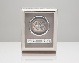 Wolf 2.7 EXOTIC Single Automatic Watch Winder Battery Operated Tan Leather - $539.00
