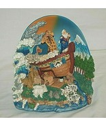 Classic Treasures Noah's Ark 3D Music Box Animated Oh What a Beautiful M... - $36.62