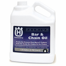 Husqvarna Premium 128-oz Conventional Bar and Chain Oil Reducing Heat & Friction - $23.36