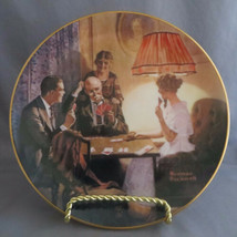 "Norman Rockwell ""This is the Room That Light Made"" - Knowles Collector P... - $4.00"