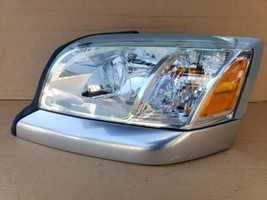 06-09 Mitsubishi Raider Headlight Head Light Lamp Driver Left LH - POLISHED image 2