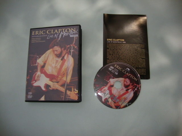 Eric Clapton - Live at Montreux 1986 (DVD, 2006)