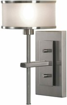 Sea Gull Lighting WB1378BS Casual Luxury One Light Wall Sconce, Brushed ... - $218.45