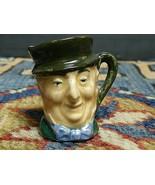 Vintage Royal Doulton England Miniature Character Toby Mug 1 1/4' - $14.89
