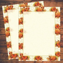"""Great Papers! 8.5"""" x 11"""" Imprintable Fall Stationery -  Big Pumpkin, 80 ... - $7.87"""
