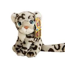 PANDA SUPERSTORE Creative Simulation Snow Leopard Doll Plush Toys