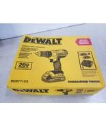 "DeWALT DCD771C2 20V MAX Lithium-Ion 1/2"" Compact Drill/Driver Tool - $82.60"
