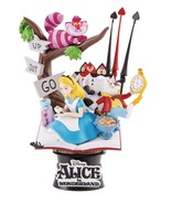 Alice in Wonderland Ds-010 D-Stage Series Statue - Beast Kingdom - $731,77 MXN
