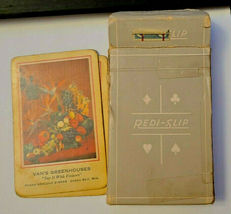 Vintage Retro Redislip Playing Cards Floral Centerpiece Van's Greenhouses  (003) image 4