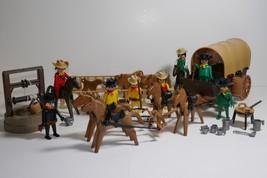 Playmobil Cowboy Super Deluxe Set #1004 RARE - $39.59