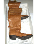 $678 original cost TALL RIDING BOOTS IN LIT BROWN  BETTYE MULLER MADE IN... - $148.49