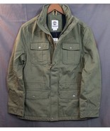 NEW Men's Timberland Military Jacket Shelburne Insulated W/ Hood  M65  M... - $89.94