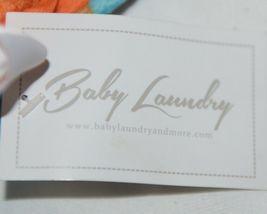 Baby Laundry Minky Blanket Orange Brown Yellow Unisex image 4