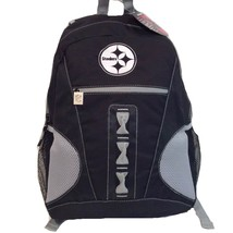 Pittsburgh Steelers NFL Team Sport Anthracite Large 600D Laptop Backpack - ₹1,073.86 INR