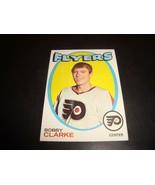 Bobby Clarke 1971-72 Topps Hockey Card #114 EX Condition Philadelphia Fl... - $11.82