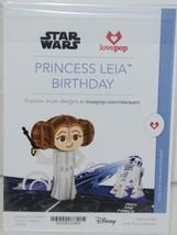Lovepop LP2096 Star Wars Princess Leia Birthday Pop Up Card Cellophane Wrapped image 2