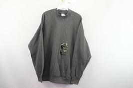 New Vtg 80s Fruit of The Loom Mens XL Long Sleeve Crewneck Sweatshirt Gr... - $49.45