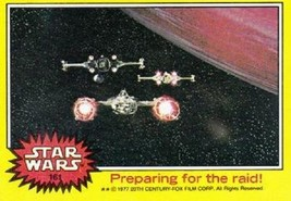 1977 Topps Star Wars Yellow #161 Preparing For The Raid! > X-Wing > Y-Wing - €1,52 EUR