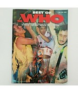 Best of The Who 2001 Rare Piano, Vocal, Guitar - $27.50