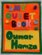 my busy book, my quiet book, baby quiet book, felt busy book - $45.00
