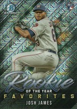 2019 BOWMAN CHROME MEGA BOX MOJO ROY FAVORITES JOSH JAMES RC ASTROS - $1.89