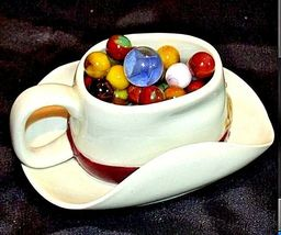 Mables in Porcelain Cowboy Coffee Cup with 1 Shooter AB 770 60 Vintage image 4