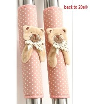 Backto20s® Twin Pack Refrigerator Handle Covers Bear Pink - $13.25