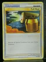 x1 FULL HEAL - 93/123 Near Mint HeartGold SoulSilver Set Pokemon Card 2010 - $1.99