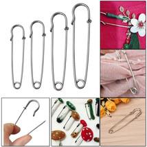 Large Small Medium Kilt Steel Safety Pins Scarf Brooch DIY Knit Stitch H... - £1.92 GBP+