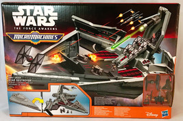 Star Wars The Force Awakens Micro Machines First Order Star Destroyer Set - $29.96