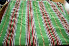 Shower Curtain Pottery Barn Newport Stripe Green Pink Red Blue 72x72 Cot... - $29.95