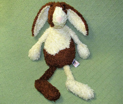 "20"" MANHATTAN TOY FLOPPY BUNNY PLUSH RABBIT STUFFED ANIMAL TAN BROWN SPO... - $38.61"