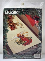 Bucilla Angels of Christmas Stamped Cross Stitch Table Runner Kit - 13.5... - $18.95
