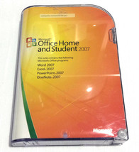 Microsoft Office Home and Student 2007 (Retail) - Word Excel PowerPoint ... - $20.34