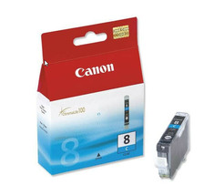 Canon 0621B002 CLI-8C Cyan Ink Cartridge PIXMA iP4200 iP4300 iP4500 MP50... - $29.65