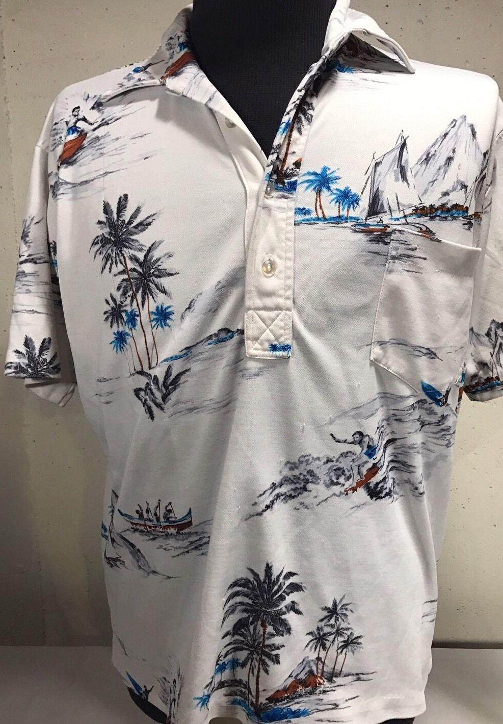 e6f5f6cd RJC Hawaiian White Shirt Sleeve Shirt No and 43 similar items. S l1600