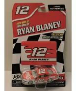 2020 RYAN BLANEY #12 DEX IMAGING NASCAR AUTHENTICS 1:64 W/TEAM STICKER C... - $9.85