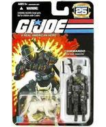 G.I. Joe 25th Anniversary: Snake Eyes (Commando) & Timber Wolf 3.75 ... - $41.58