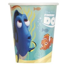 Finding Dory Nemo 9 oz  Party Paper Cups by Unique 8 Count Birthday Supplies New - $3.95
