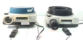 Lot of 2 Kodak Ektagraphic Slide Projectors Model B-2 & Model AF-2  - $27.69