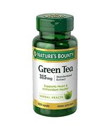 Nature's Bounty Green Tea Extract, 315mg, Pack of 2 ( 200 Capsules )  - $23.99