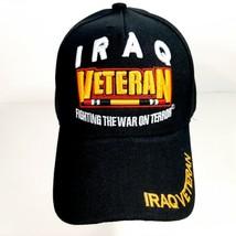 Iraq Veteran Memes Ball Cap Black Embroidered Acrylic - $12.37