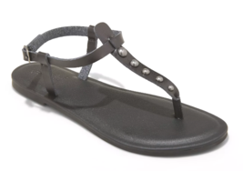 Universal Thread Women's Kylianne Vegan Summer Thong Sandals Black