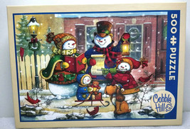 """Cobble Hill 500 Piece Jigsaw Puzzle """"Song for The Season"""" Christmas COMP... - $19.99"""