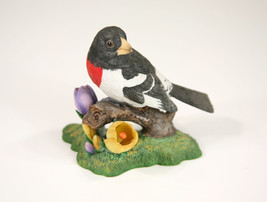 VTG LENOX Garden Birds Rose-Breasted Grosbeak 1991 Vintage Fine Porcelai... - $29.69